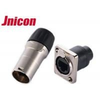 China Waterproof IP44 / IP65 RJ45 Connector , 8 Pin RJ45 Watertight Ethernet Connector wholesale
