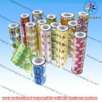 China Promotional Bottle Stickers For Customer , Food Packaging Films wholesale