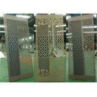 China Indoor / Outdoor Decorative Aluminum Sheet Pollutant Resistance wholesale