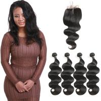 China Non - Remy Brazilian Human Hair Weave Extensions Body Wave OEM Service wholesale