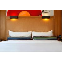 China HPL Laminate plywood hotel furniture liquidators Guest rooms Wood Headboards with Wall panels wholesale