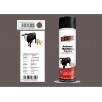 China Light Green Animal Marking Spray Paint For Pig With MSDS Certification wholesale