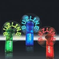 China 108 x 35 x 55mm LED Flashing Message Fans, Made of Plastic, Powered by Three x AAA Batteries wholesale