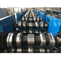 China Pre - cutting and Punching Guard Rail Roll Forming Machine 2 wave profile with servo feeding wholesale
