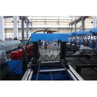 China 15M/MIN Highway Guard Rail Roll Forming Machine 45KW Motor Two Sets Punching wholesale