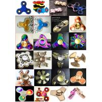 China Fast delivery colorful ABS Plastic Tri Spinner EDC Fidget Hand Spinner Toy wholesale