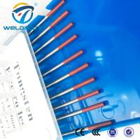 China Super 2 Thoriated Tungsten Electrode Msds WT20 WL20 WC20 Tig Welding Rod on sale