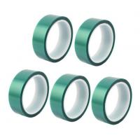 Quality 3M 8992 High Temperature Tape Green PET Silicone Tape For Powder Coating for sale