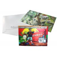 China CMYK Merry Christmas Lenticular Printing Services Greeting Card Heat Resistant wholesale