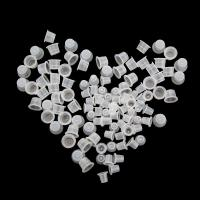 China Microblading Ink Caps For Tattooing 100 Pcs Disposable 11mm Height on sale