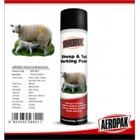 China Eco Friendly Marking Spray Paint , Fast Drying Pig / Cattle / Sheep Marking Paint wholesale