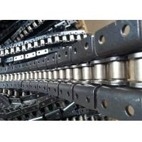 China Stainless Steel Double Pitch Roller Chain Machined With Custom Attachments wholesale