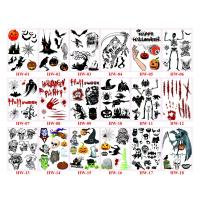 China 2015 hot popular Halloween temporary tattoo stickers on sale