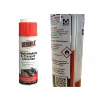 China Non Irritating Car Care Products , All Purpose Foam Cleaner For Velour Seats wholesale