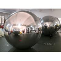 China Event Party Inflatable Mirror Ball With 1 Year Warranty Customized Material wholesale
