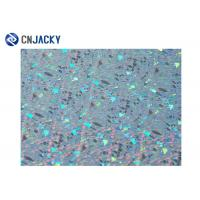 China Colorful Holographic Smart Card Material , Inkjet PVC Sheet For Plastic Card wholesale