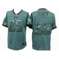 China nike nfl Philadelphia Eagles 25 McCoy green drenched jersey wholesale