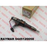 Buy cheap BOSCH Genuine common rail fuel injector 0445120058 for MITSUBISHI Fuso ME356178, ME355793 from wholesalers