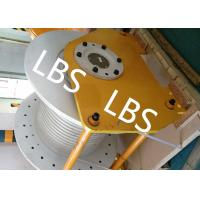 China Electric / Hydraulic Windlass Winch , Combined Marine Mooring Winch With Lebus Grooving wholesale