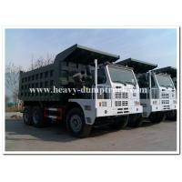 Quality 70 Tons Heavy Duty Dump Truck For Mining ZZ5707S3840AJ 30m3 and 371hp for sale