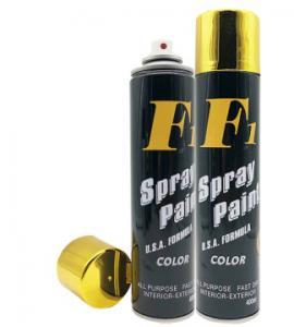 China Anti Corrosive Bright Gold Aerosol Spray Paint wholesale