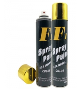 China Bright Gold Metallic Electro Plated Aerosol Spray Paint wholesale