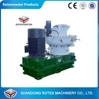 China Bulgaria Clients  Wood Pellet Machine YGKJ560 Model Biomass Ring Die Wood Pellet Machine wholesale