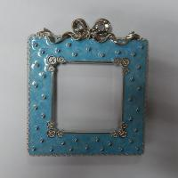 China Metal photo frame,ready mold,112*128*10mm,143g, China factory for zinc alloy picture frame on sale