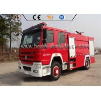 China Euro 4 Sinotruk 4X2 Firefighter Truck / Fire Fighting Vehicle For Rescue Service wholesale