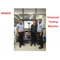 China 1000mm Test Width Electromechanical Universal Testing Machine For Automotive Seat Compression wholesale