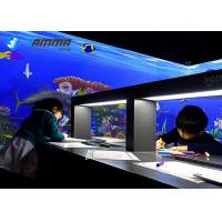 China Magic Sea Interactive Projector Games Painting with Infrared Sensing Radar on sale