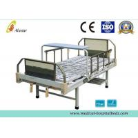 2 Crank Medical Manual Hospital Beds Steel Frame Head Board (ALS-M236)