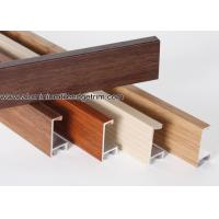 Buy cheap Wood Grain Effect Aluminium Picture Frame Mouldings For Art Show from wholesalers