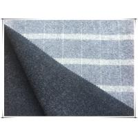 "China 80 Wool 20 Nylon Big Tartan Double Faced Wool Coating Fabric , Width 150cm / 59"" wholesale"