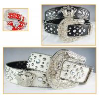 China rhinestone crown accessories belts for jeans for cowgirl wholesale