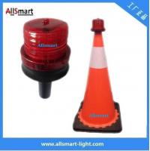 China 4LED Sensor Lighting Road Barricade Light Solar LED Warning Light for Traffic Cone wholesale