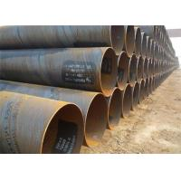 China Low Carbon Steel Spiral Steel Pipe API 5L Grade B SSAW , S355jh Psl1 on sale