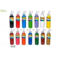 China Safe Pure Plant Pigment bright color Tattoo Ink Sterilized 4oz Water - Stain Liquid on sale