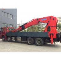 China High Durability Truck Mounted Knuckle Boom Crane with Small Foundation on sale