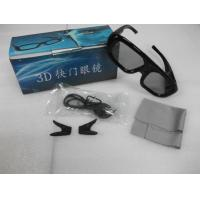 China Samsung Active Shutter 3D TV Glasses Plastic Eyewear For Home Theater wholesale