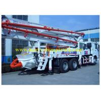 China 37m Boom mounted concrete pump truck SYG5260THB  SY5260THB 37B wholesale