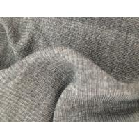 Quality bamboo+silver+spandex emf shielding fabric for anti radiation clothing elastic for sale