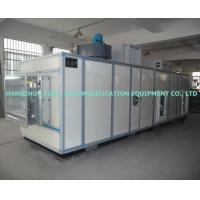 High Efficiency Silica Gel Wheel Industrial Dehumidifier With Cooling Coil