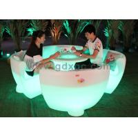 China Stylish Illuminated Led  morden Chairs with RGB 16 Colors Changing wholesale