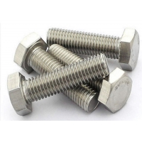 China 24inch Length 12.9 Grade M8 45mm Screw , A193 Stainless Steel Hex Head Screws wholesale