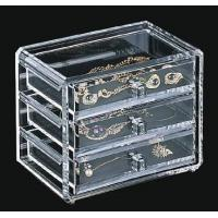 China Quick Delivery Acrylic Jewelry Box With customer's Logo wholesale