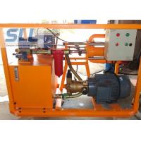 China 100 L/Min Output Cement Grouting Pump Machine For Underground Project wholesale