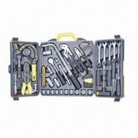 China Blow case tool set and kit/199 pieces car maintenance tool, carbon steel wholesale