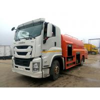 China ISUZU Sewer Vacuum Truck , 15 Tons City / Factory Sewer Cleaning Truck 4x2 on sale