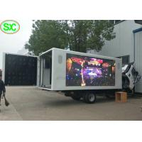 China IP65 Waterproof Mobile Truck LED Display 4mm with Phone Remote Control wholesale